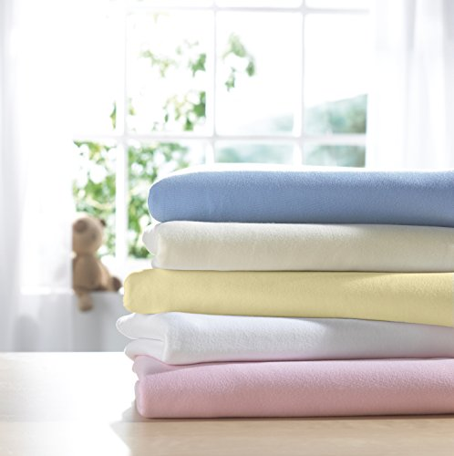 Izziwotnot Jersey Interlock Fitted Cot Sheets 2 pack Blue