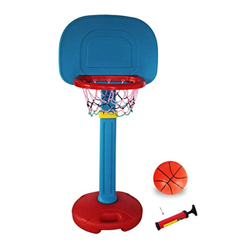 XIUYU Fitness Basketballkorb Startseite Indoor Kinder Basketball-Rack Abhebbarer Basket Outdoor Sports Stand-Alone-Basketball Ständer (Color : C, Size : 52 * 48 * 130160cm)