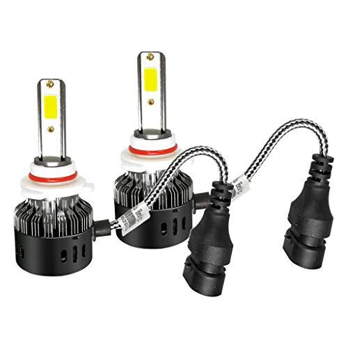 MagiDeal Par H7 3030 24W 12-LED Kit de Conversión 6500K Coche Bombilla Luz de Conducción de Niebla - Estilo 10