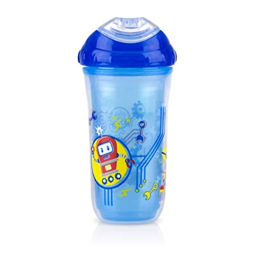 Nuby Insulated Cool Sipper Beaker - Robots