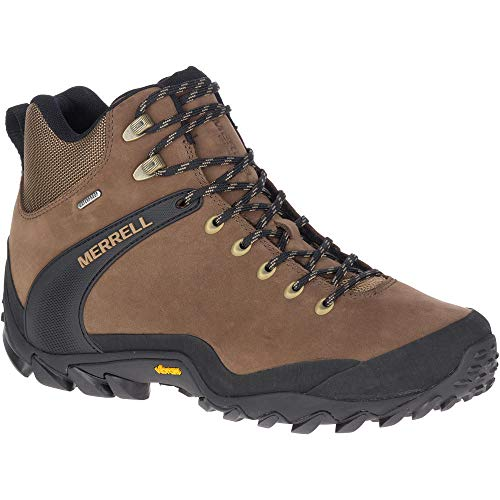 Merrell Males's Chameleon 8 Leather Mid Waterproof Mountain hiking Boot thumbnail