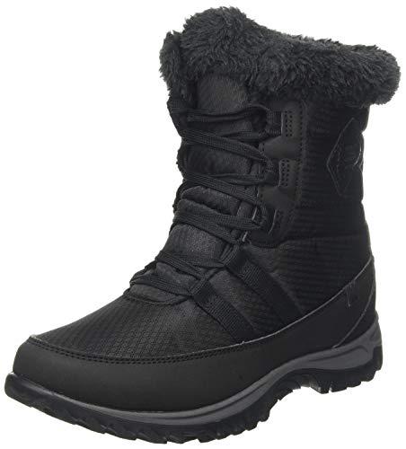 Regatta Damen Waverley' Quilted Textiel Boots Hohe Stiefel, Schwarz (Black 800), 37 EU