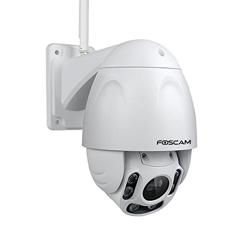 Foscam Outdoor PTZ (4x Optical Zoom) HD 1080P WiFi Security Camera