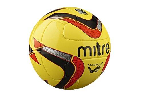 Mitre Max Profi-Fußball Gelb Yellow/Black/Red 37