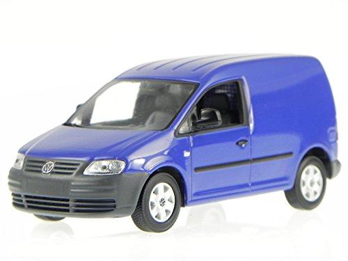 VW Caddy Kasten Lieferwagen 2005 blau Modellauto Minichamps 1:43