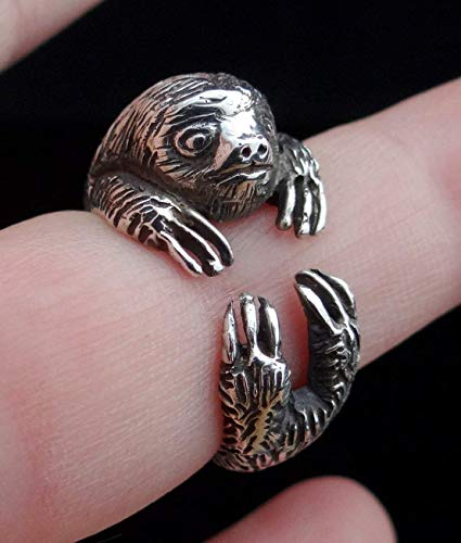 Sloth Ring Sterling Silver