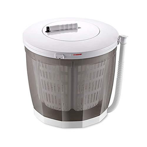 Lavatrice Ecologica Portatile, Mini Lavatrice a manovella Manuale Non elettrica Lavatrice e centrifuga risciacquo e centrifuga per Appartamenti da Campeggio