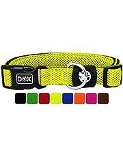 DDOXX Collare Cane Air Mesh, Imbottito, Regolabile | Tanti Colori e Taglie | per Cani Piccoli Medi e Grandi | Collari per Gatti Cuccioli Taglia Piccola Media Grande | Collarino Gatto