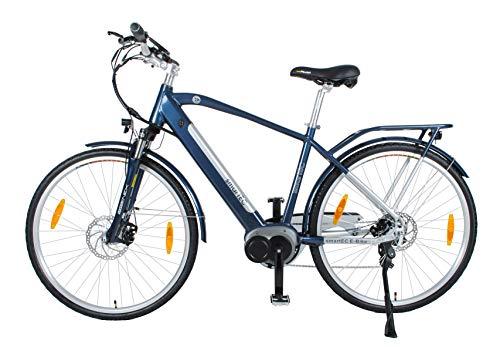 4176i w N8L - smartEC TrekX-MH Trekking Pedelec Elektrofahrrad E-Bike 28 Zoll mit Samsung Li-Ion-Akku 14AH, Mittelmotor, Rahmen-Akku, Fahrunterstützung bis 25 km/h, 7 Gänge