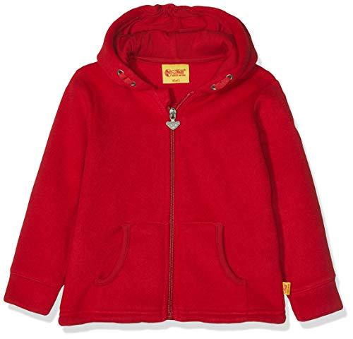 Steiff Sweatjack voor jongens fleece gebreid vest