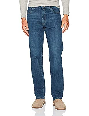 Wrangler Authentics Men's Classic Relaxed Fit Jean, Slate Flex, 40W x 29L