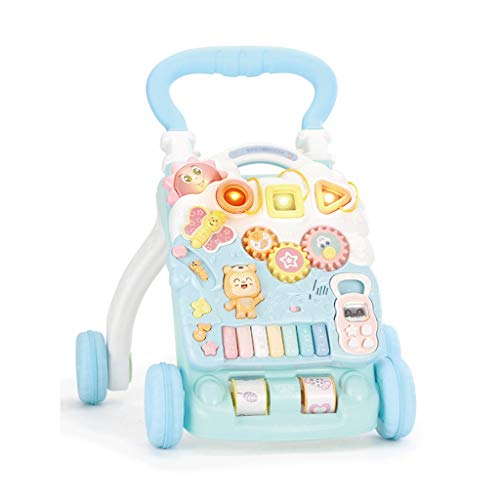 Baby Walker Trolley Multifonction Bébé Enfant Un Ans d'apprentissage Marcher Walker Poussette Jouet FANJIANI