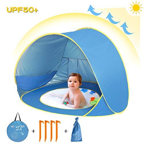 sanlinkee Pop up Beach Tent Outdoor Automatische UV Bescherming baby Draagbaar