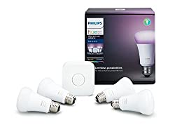 Philips Hue 2-Pack Premium Smart Light Starter Kit