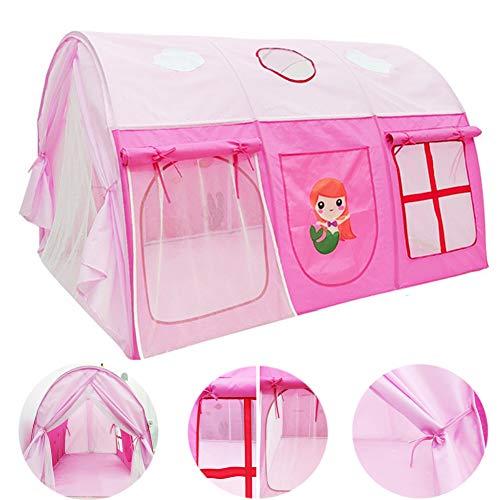 DFGHJKNN Kinderspielhaus Zelt,Kinderspiel Gamehouse Tragbares Zelt,Einfach Zu Montieren,Für Mädchen Jungen Outdoor/Indoor