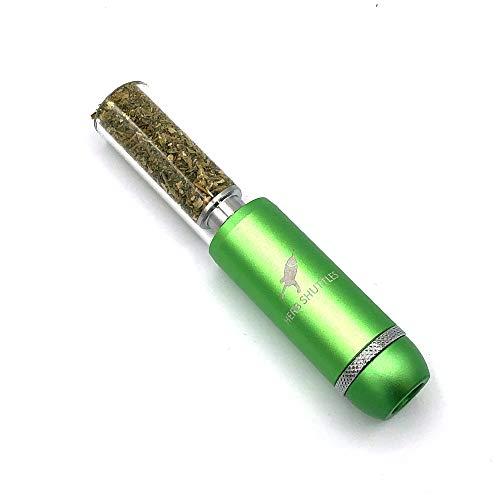 Herb Shuttles MJ420-TT Pipe - edle Tabakpfeife (Green)