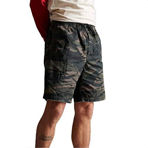 Superdry Herren Utl Cargo Shorts, Mehrfarbig (Camo F28), Small