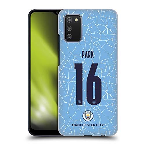 Head Case Designs sous Licence Officielle Manchester City Man City FC Jess Park 2020/21 Home Kit des Femmes Groupe 2 Coque Dure pour l'arrière Compatible avec Samsung Galaxy A02s (2021)