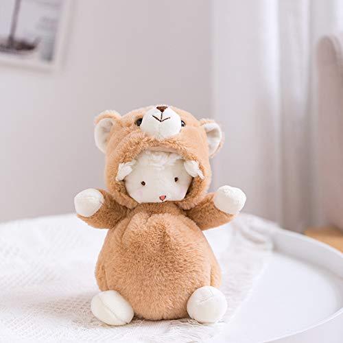Abbandoni La Bambola del Regalo di Compleanno del Ragdoll delle Pecore Trasformata Bambola di Peluche della Bambola Dell'agnello,C