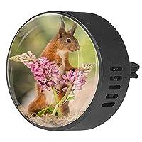 エッセンシャル オイル ベント クリップ用カー ディフューザー、ルピナスの花に触れてください ,2 パック 40mm アロマセラピー芳香剤