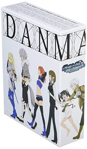 DanMachi - Is It Wrong to Try to Pick Up Girls in a Dungeon? - Hestia Box - Gesamtausgabe - [Blu-ray]