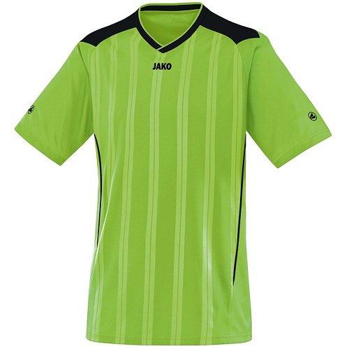 JAKO Copa KA Maillot de Sport pour Femme Multicolore Vert Pomme/Noir 46-48
