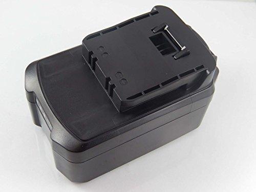 vhbw Li-Ion Akku 3000mAh (18V) für Elektro Werkzeug Meister Craft 5451260, 5451370, BBR-180, BBR180, MAS 180 wie 5451270, R18/65.