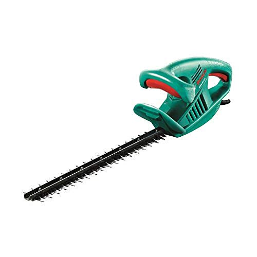 Bosch 0600847A70 AHS 45-16 Electric Hedge Cutter, 450 mm Blade Length, 16 mm Tooth Opening, Green