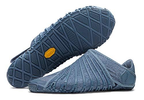 Vibram FiveFingers Furoshiki 2 Men – Calzado descalzo / envolvente para hombre con práctica bolsa de transporte, azul noche, 45