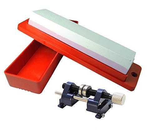Proops (W3334) Abziehstein, Box und Schleifführung, Meißel und Hobel, Set, zum Schärfen, Holzverarbeitung. -