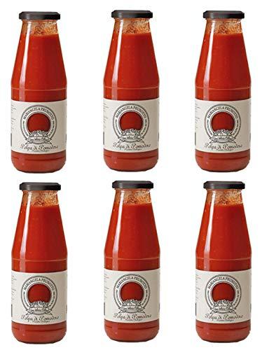 Azienda Agricola Prunotto Mariangela Polpa di Pomodoro Biologica, 6 bottiglie da 690g