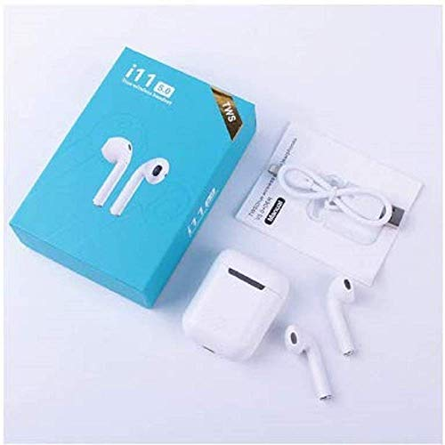 Posh i_7S Series Bluetooth Wireless Earphones with Mic- i_7S Wireless Bluetooth Earphone Mini Twin Portable Bluetooth Headset,with Active Noise Cancellation