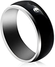PAWACA NFC Smart Ring, Waterproof Dust-Proof Fall-Proof Multifunctional Smart Ring for Android, Electronics Mobile Phone Accessories for Men, Women