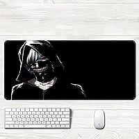 マウスパッド アニメ東京喰種トーキョーグールゲーミングマウスパッド漫画XXL大型900x400mmゲーマービッグPCキーボードデスクマットプレイマット-B2_400*900*3mm