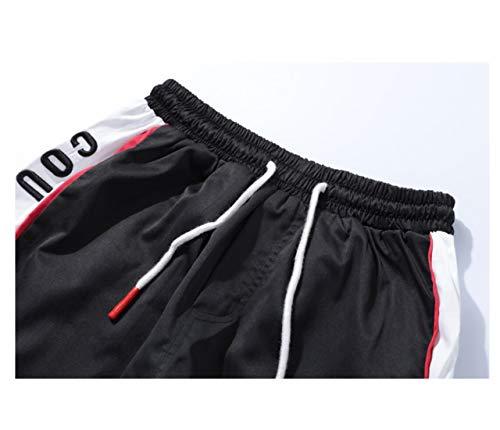 Irypulse Pantalóns de Jogging Deportivos Casuales para Hombre, Chándal Moda Callejera Urbana para Adolescentes y Niños Pequeños, Pantalone Aptitud con Rayas Laterales de Moda - Diseño Original