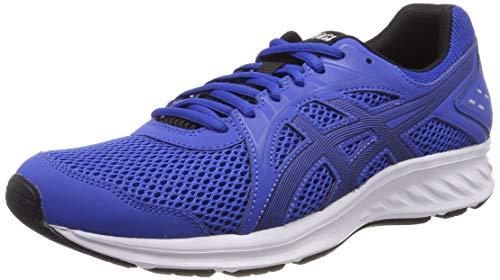 t�nis asics frequent trail masculino - azul e preto usado