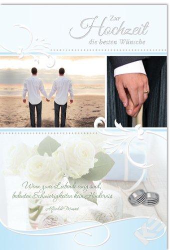 XXL Karte,Hochzeitskarte,gleichgeschlechtlich,homo, schwul