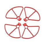 YinAn Accesorio para la Seguridad Durante el Vuelo. Propulsors/Fit for - A3 / Protector Protector Protector Protector Protector Blades Accesorios (Color : Red Props Guard)