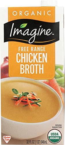 Imagine Free Range Chicken Broth, Organic, 32 oz