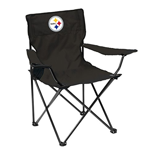 Logo Brands Officially Licensed NFL Unisex Quad Chair, One Size, Pittsburgh Steelers