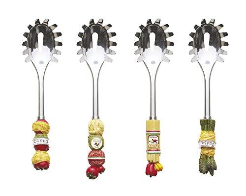 Excelsa Lollypop Servispaghetti, Acciaio, Multicolore, 27x7x5 cm