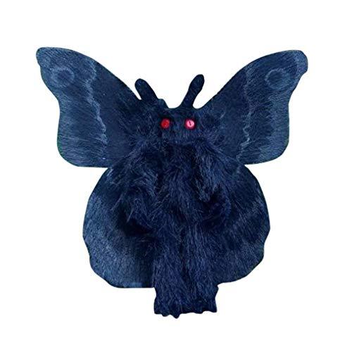 Gothic Mothman Plushie,Encantador Muñecas,Juguete de Peluche para niños (A)