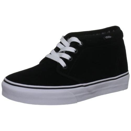 Vans Chukka Boot, Scarpe da skateboard unisex adulto, Nero (Schwarz (Schwarz/Weiß)), 40.5