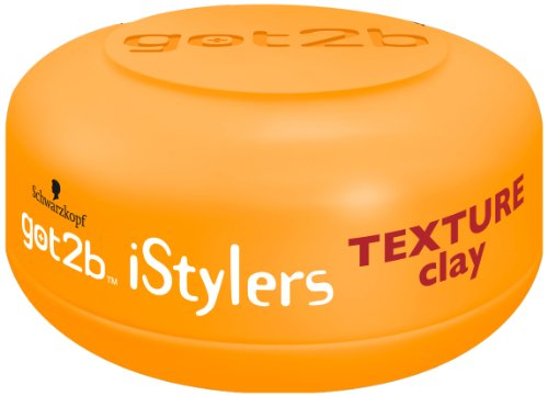 got2b iStylers Texture Clay, 6er Pack (6 x 75 ml)