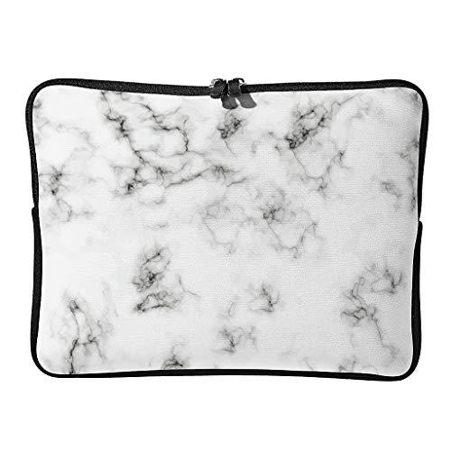 5 tamaños de funda para portátil con textura de mármol, bonita y duradera, con efecto artístico, ideal para negocios