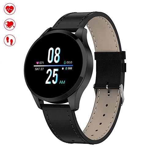 OOLIFENG Fitnesstracker, hartslagmeter, waterdicht IP67, sporthorloge, stappenteller, armband voor iPhone Huawei Samsung