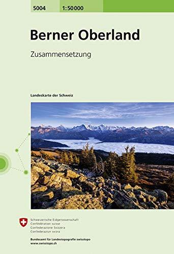5004 Berner Oberland: Zusammensetzung (Landeskarte 1:50 000 Zusammensetzungen)