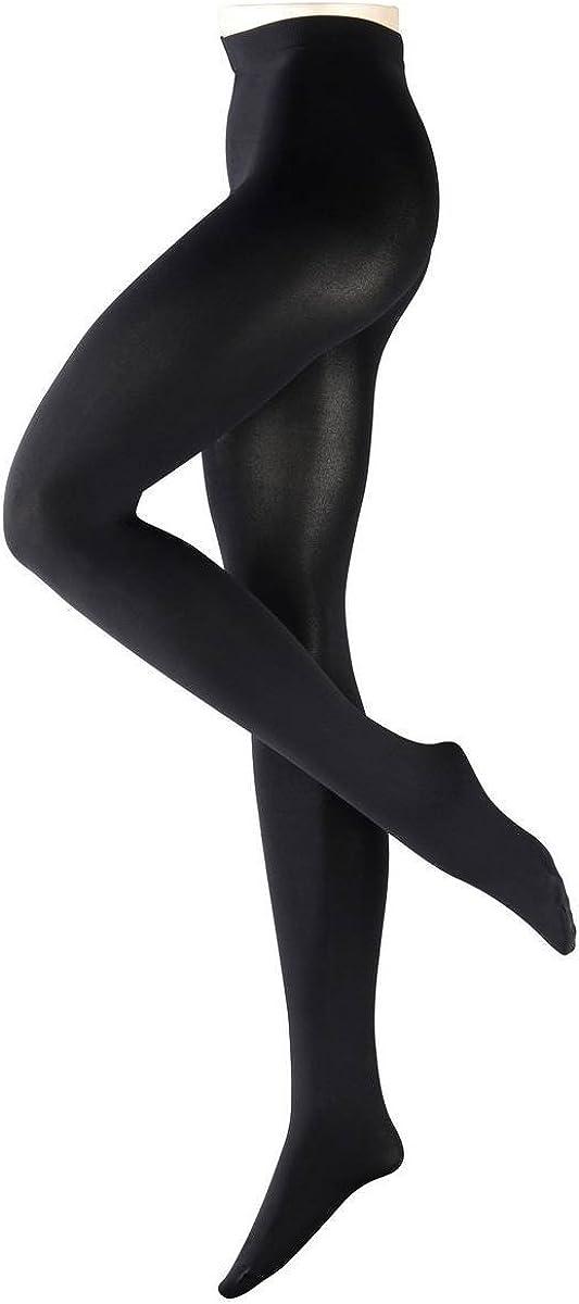 Falke Womens Pure Matte 100 Denier Opaque Matte Tights - Black