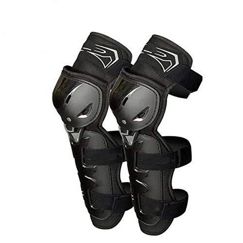 GZMAEHKC 2019 Motocicleta Rodillera Motocross Motor Caballero Equipo De Protección contra Caídas Rodilleras De PE Protección De Carcasa