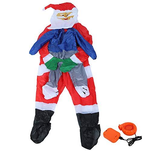Fdit Aufblasbare lustige Cosplay Party Kostüm Weihnachten Weihnachtsmann Cartoon aufblasbare Kostüm für Halloween Weihnachtsfestivals Party Dekoration(1#)